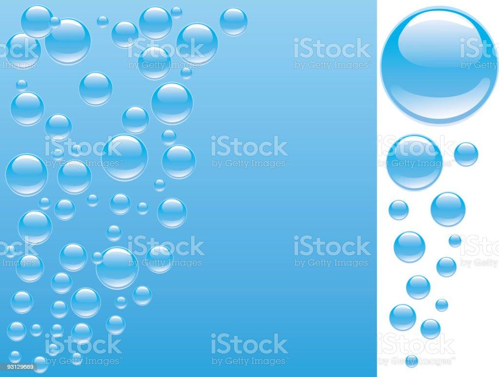 Underwater. royalty-free stock vector art