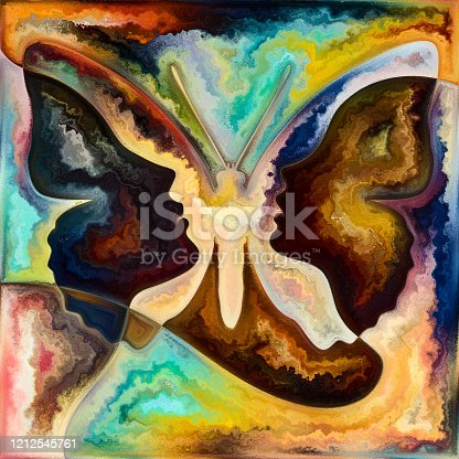 585087100 istock photo Unfolding of Color Way 1212545761