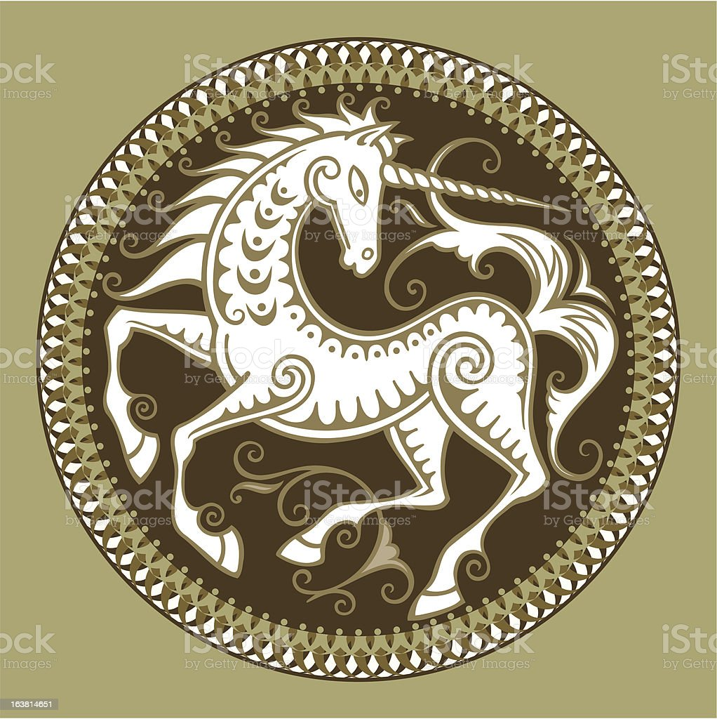 unicorn royalty-free stock vector art