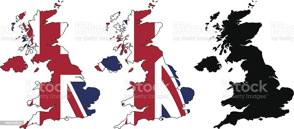 United Kingdom Flag Maps ( vector ) royalty-free united kingdom flag maps stock vector art & more images of british culture