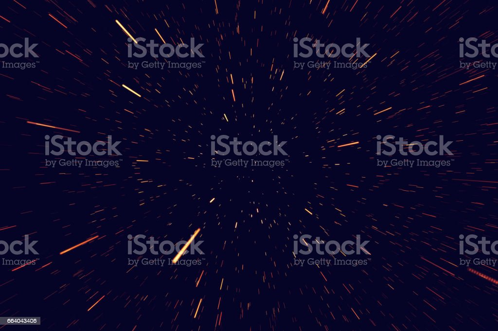 Universe star field in deep space with nebula many light years far from the Earth. Colorful background. 3d rendering vector art illustration