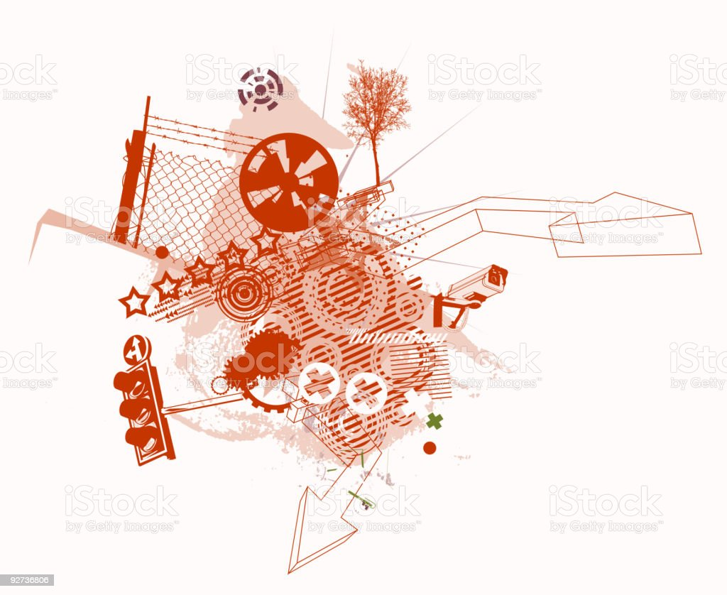 urban Hintergrund Lizenzfreies urban hintergrund stock vektor art und mehr bilder von abstrakt