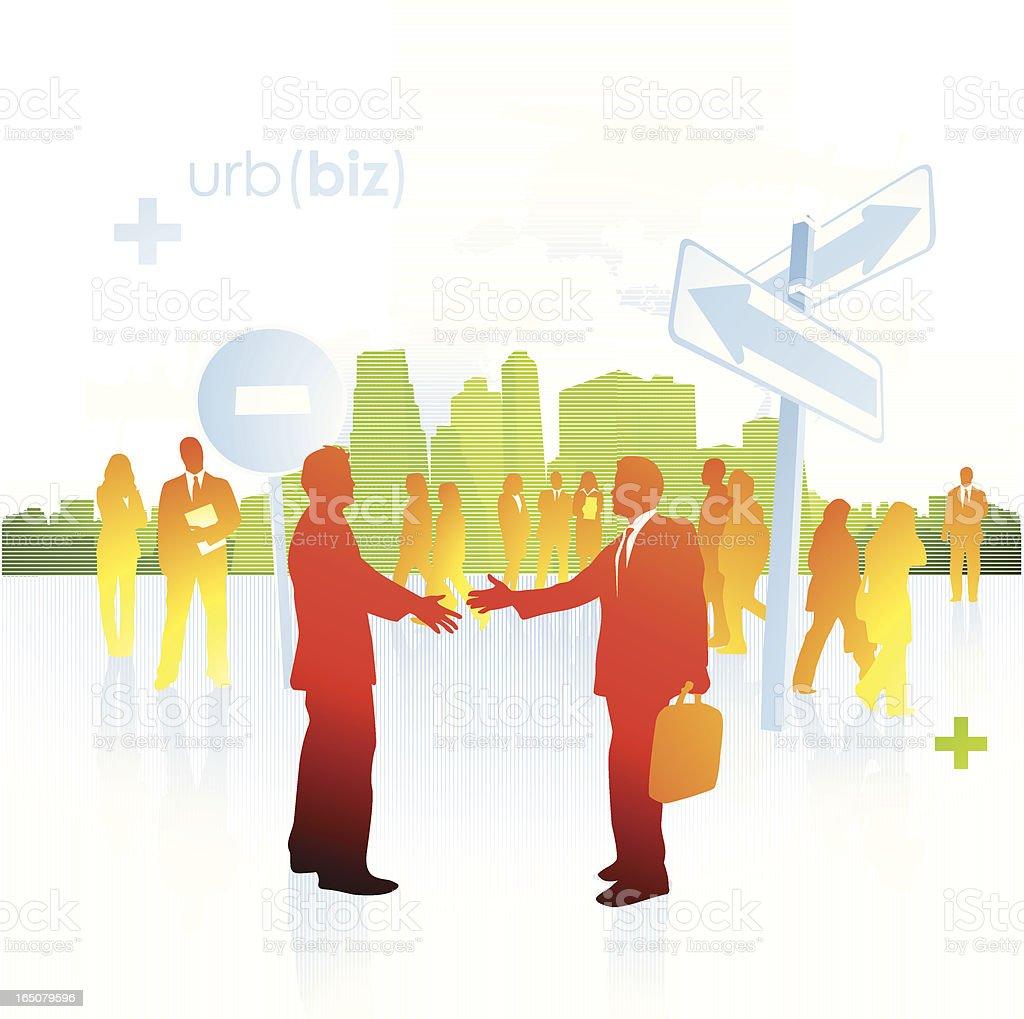 Urban business royalty-free stock vector art