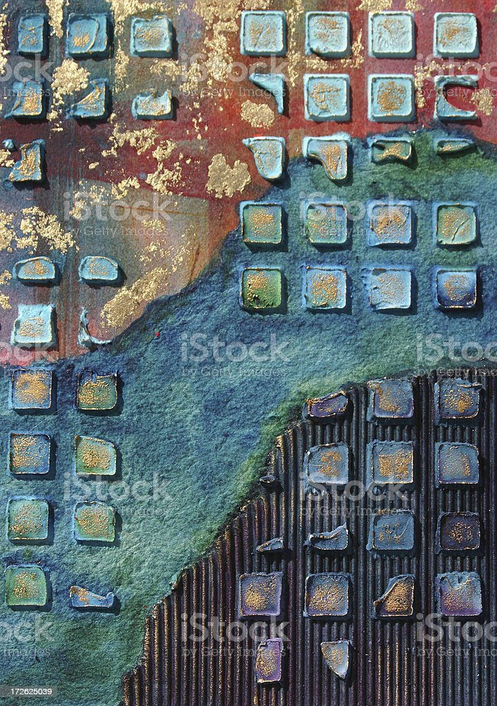 Urban River royalty-free stock vector art