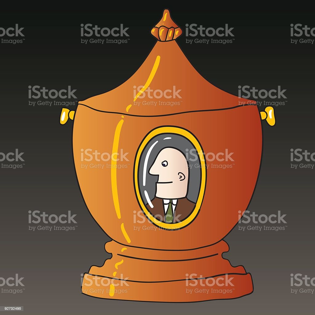 urn royalty-free stock vector art