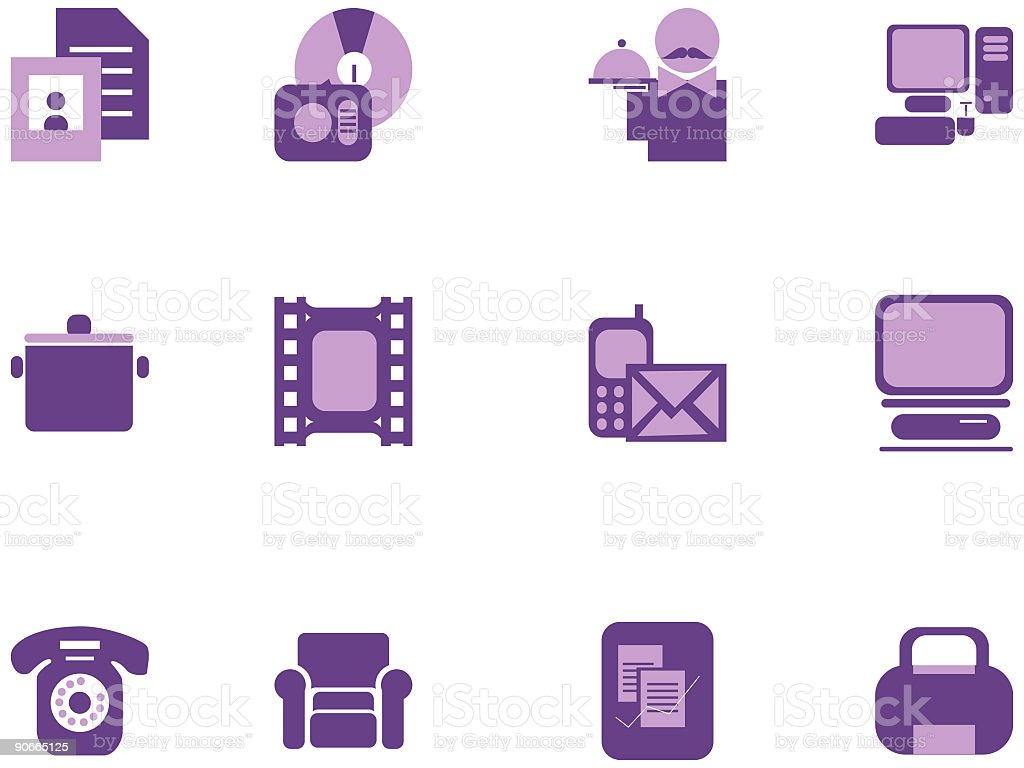 Useful Icon Set royalty-free useful icon set stock vector art & more images of briefcase
