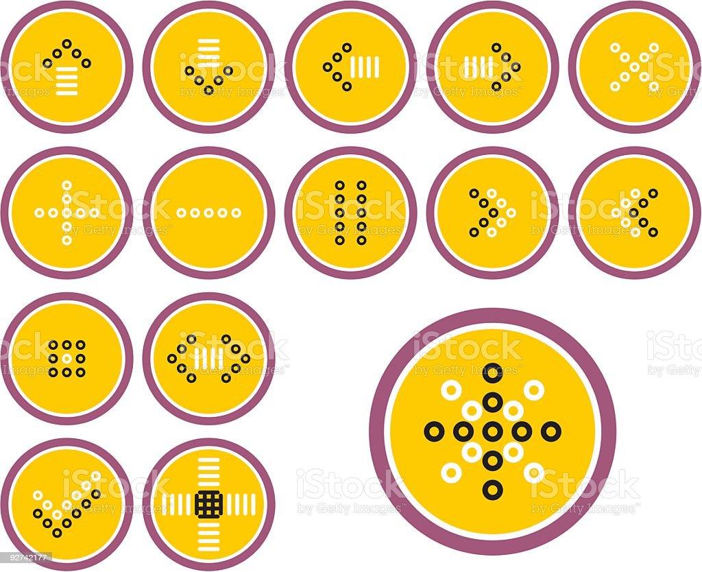 Nützliche Icon-Set Lizenzfreies nützliche iconset stock vektor art und mehr bilder von abschied