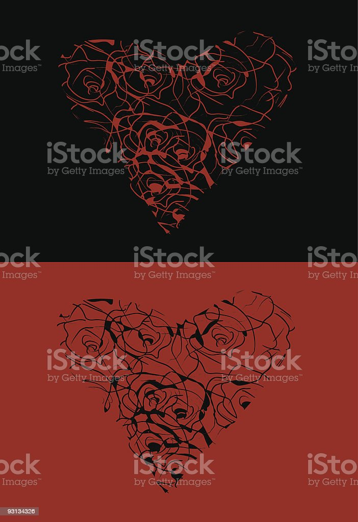 valentine card royalty-free stock vector art