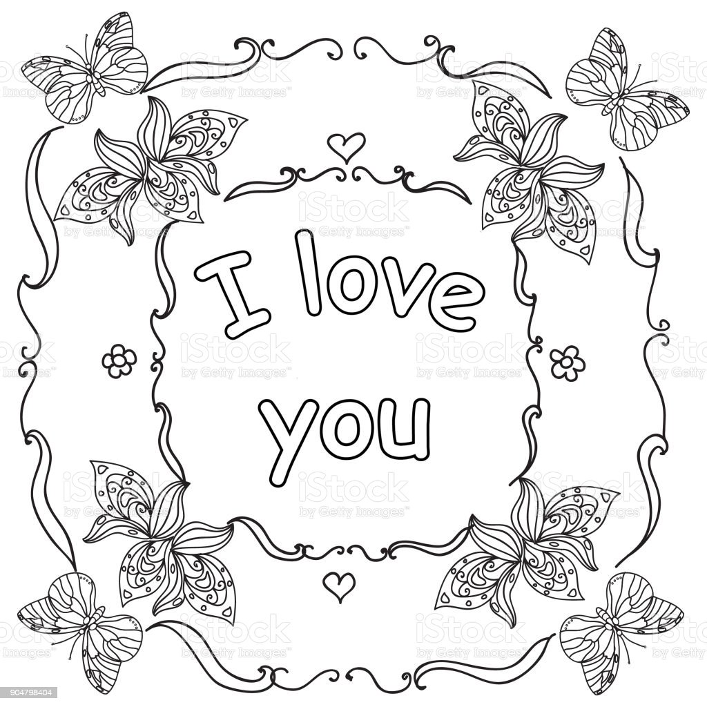 i you quote coloring page stock