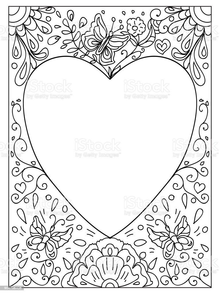 Image Of Free Printable Coloring Page Borders Coloring Page Border ...