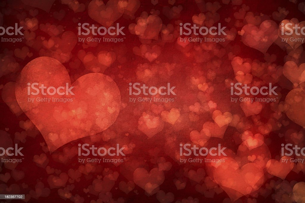 Valentines background vector art illustration