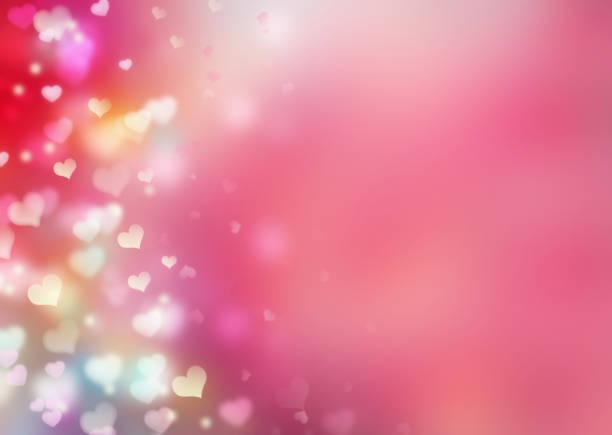 valentines background.romantic pink red illustration. - rainbow glitter background stock illustrations
