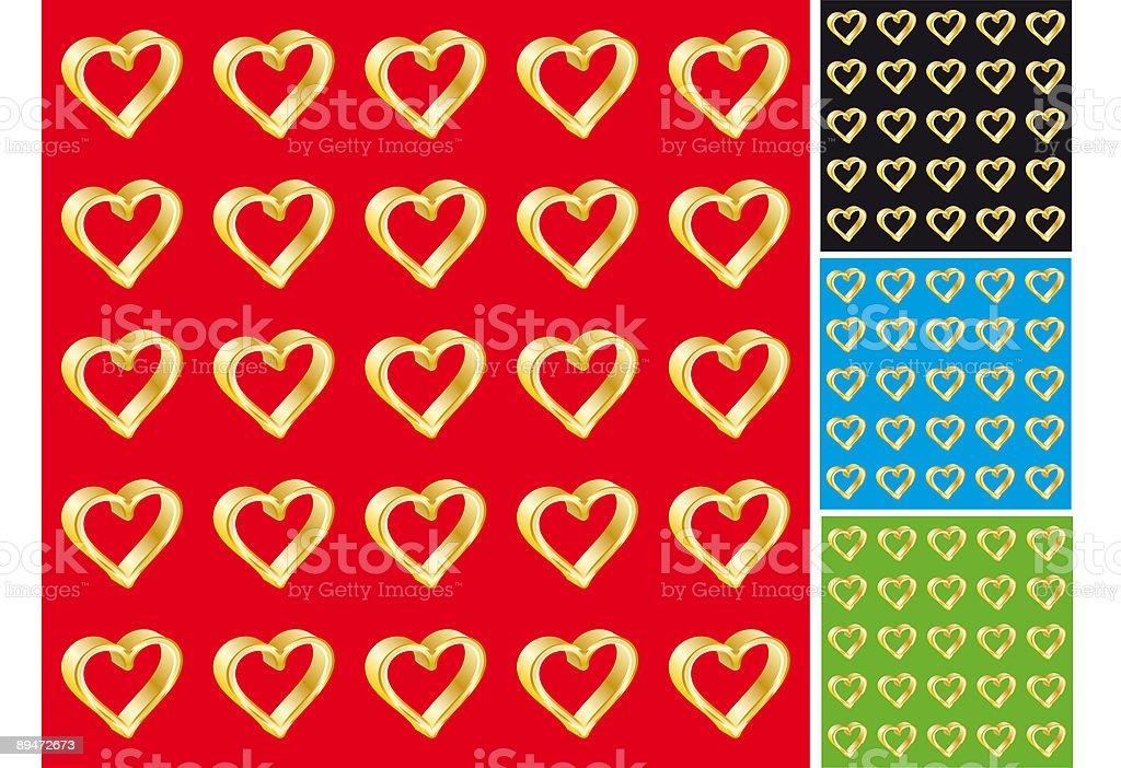 Valentine's day background royalty-free valentines day background stok vektör sanatı & altın - tanımlı renk'nin daha fazla görseli