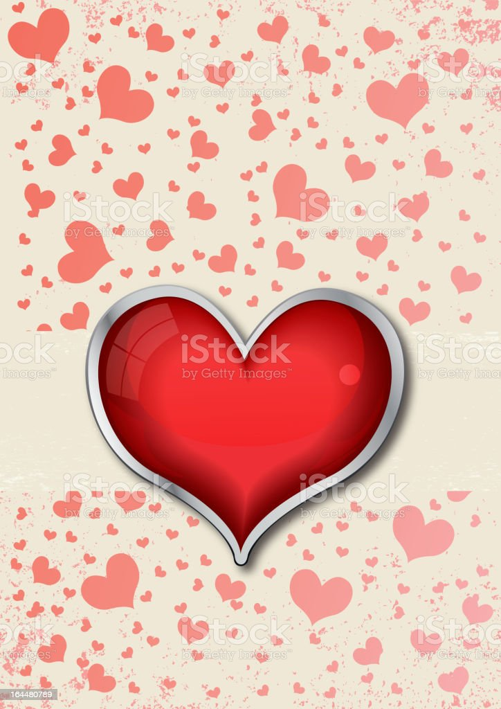 Valentine's day illustration royalty-free stock vector art