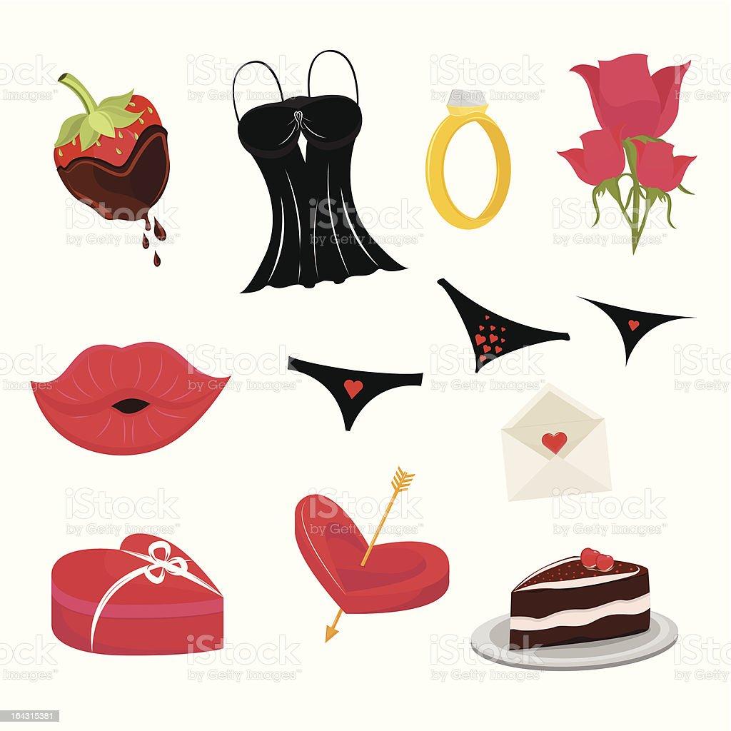 Día de San Valentín - ilustración de arte vectorial