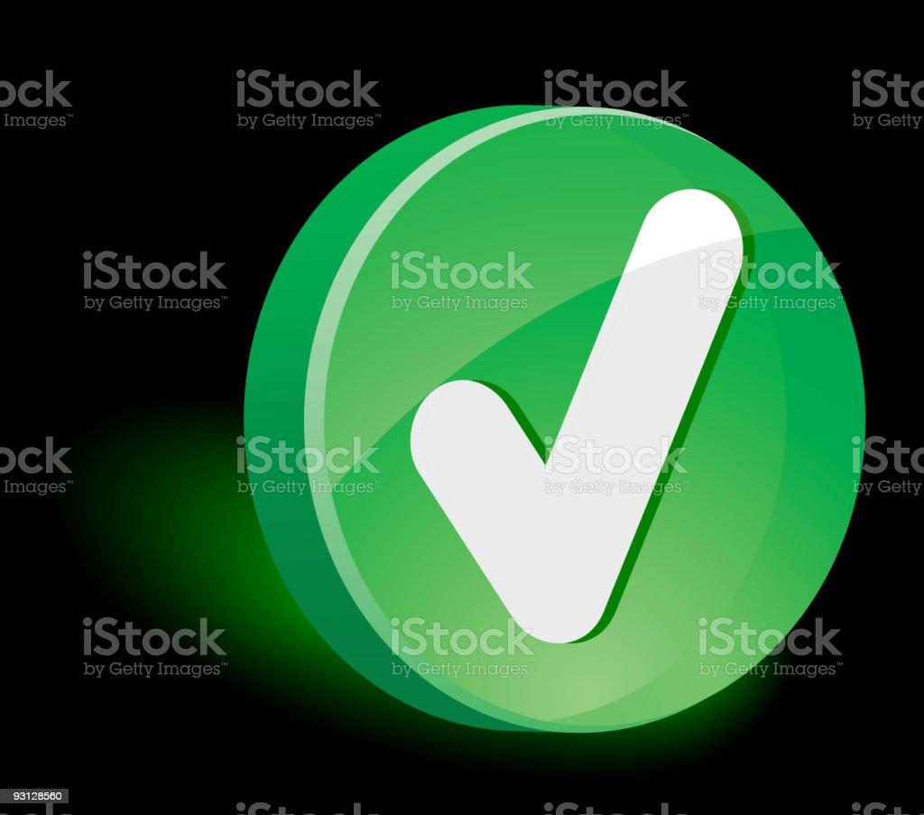 Validation Icon. royalty-free stock vector art