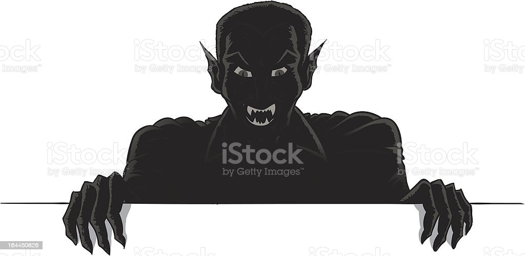 Vampire holding up a sign royalty-free vampire holding up a sign stock vector art & more images of cape