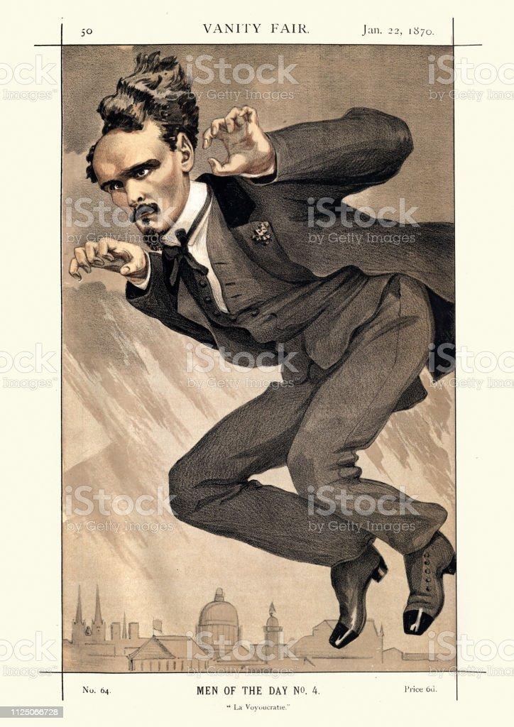 Vanity Fair Caricature Victor Henri Rochefort French Politician Immagini Vettoriali Stock E Altre Immagini Di 1870 1879 Istock