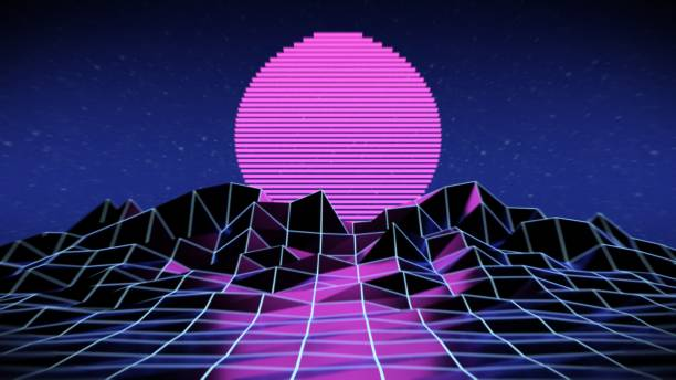 Best Vaporwave Illustrations Royalty Free Vector Graphics