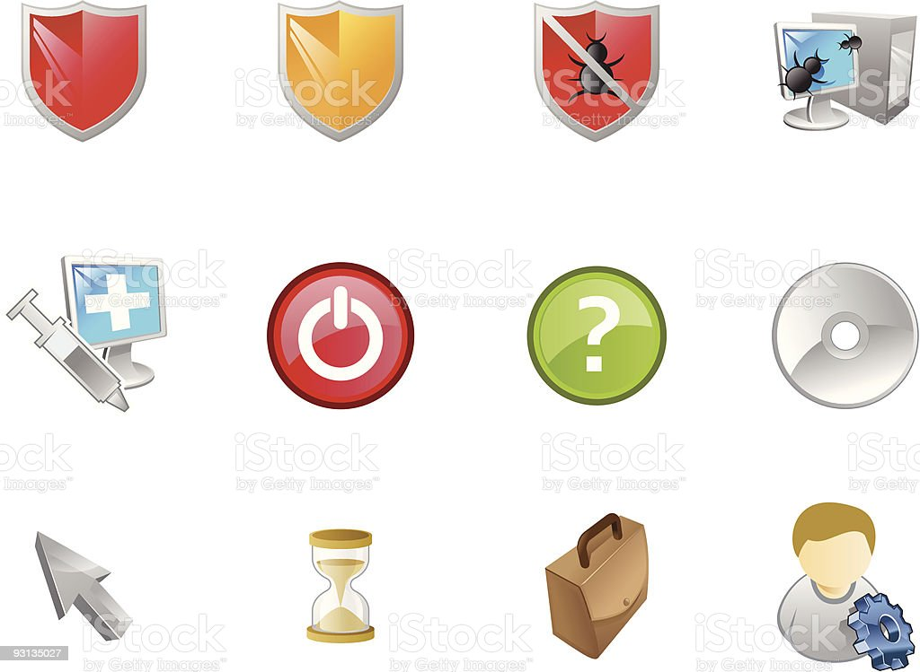 Varico  Icons | Set  2 royalty-free varico icons set 2 stock vector art & more images of arrow symbol