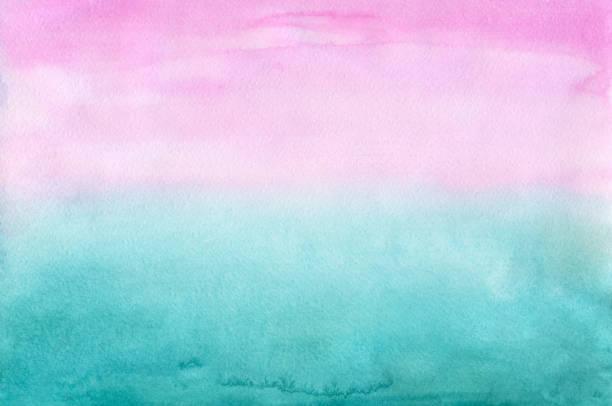 varicolored 水彩の背景 ベクターアートイラスト