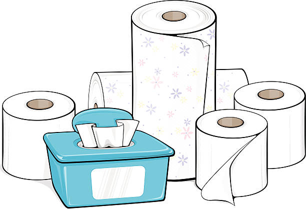 paper towel coloring pages - photo#19