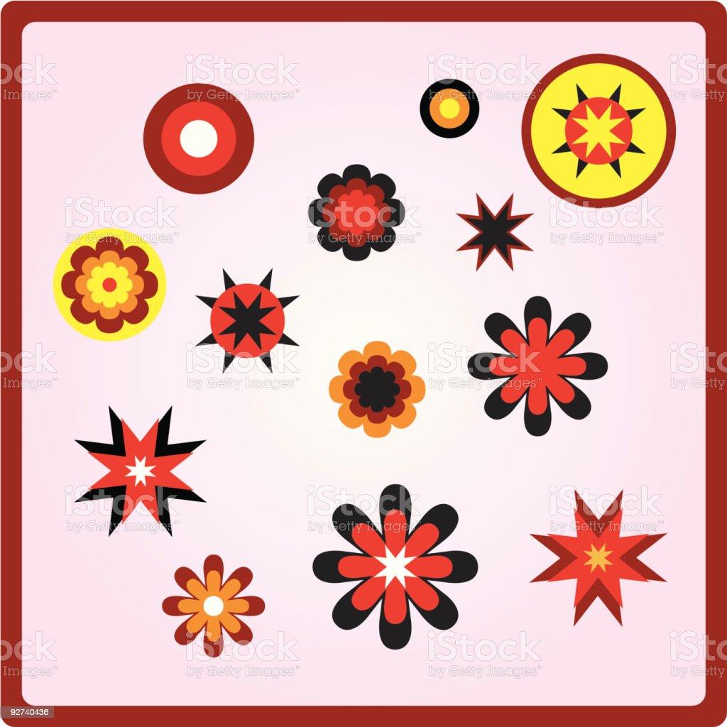 Verschiedenen Formen 01 (Vektor-illustration Lizenzfreies verschiedenen formen 01 vektorillustration stock vektor art und mehr bilder von 1970-1979
