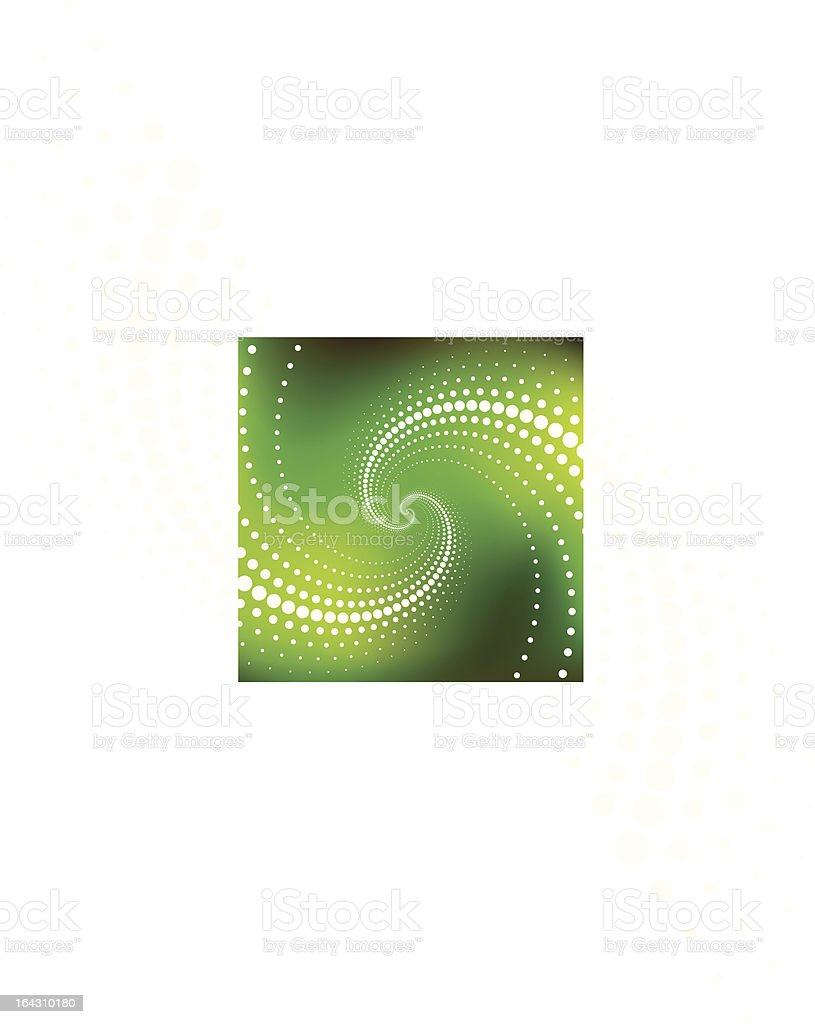 Vector Abstract Spiral Background royalty-free stock vector art