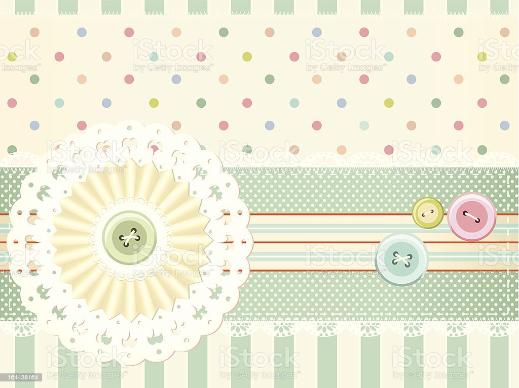 Vector background in retro style royalty-free stock vector art