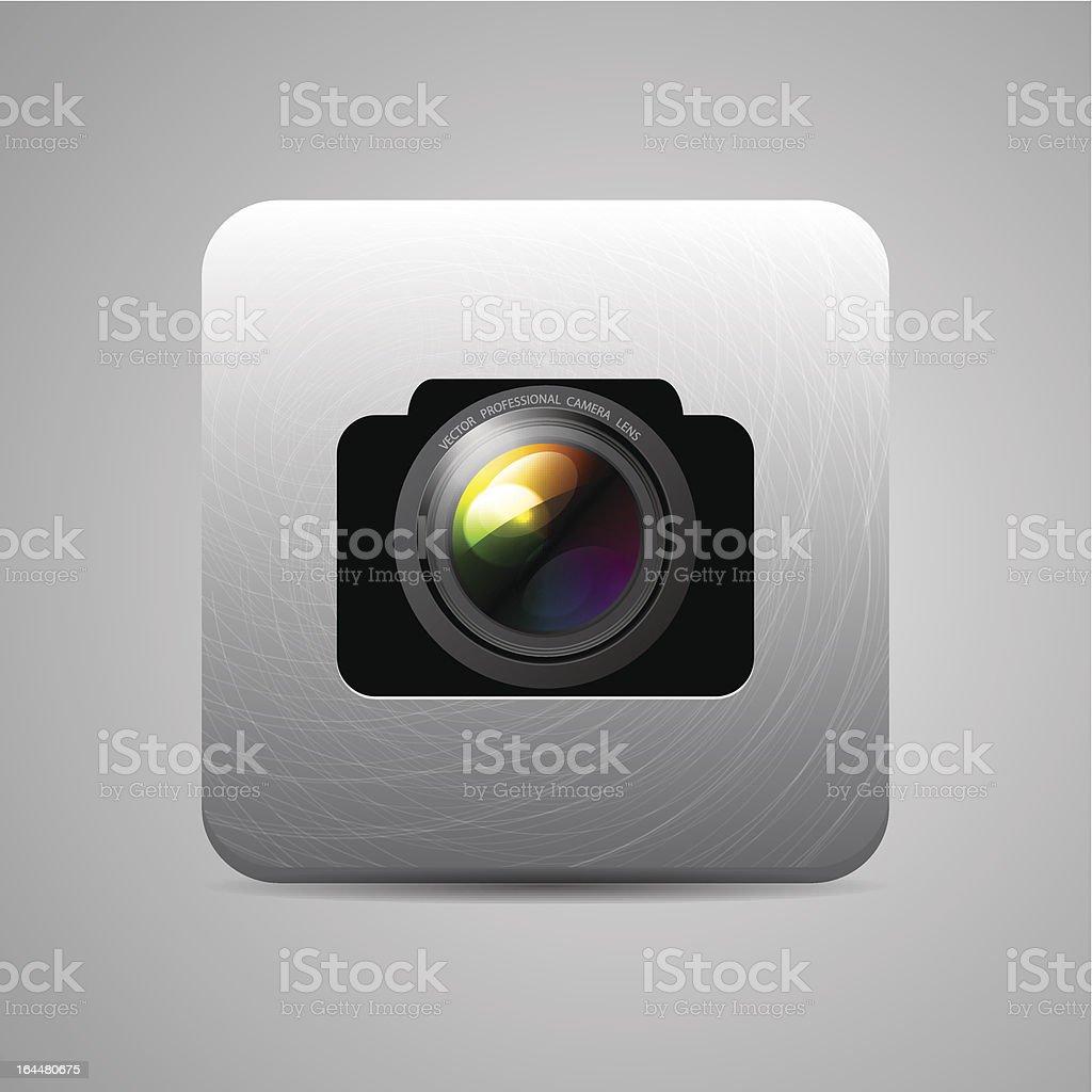 Vector camera application royalty-free stock vector art