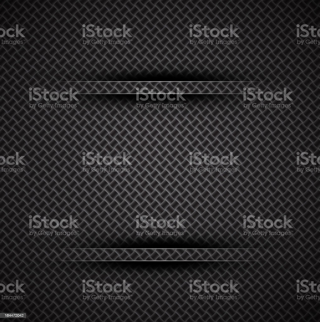 Vector carbon fiber background with dividers royalty-free vector carbon fiber background with dividers stock vector art & more images of abstract