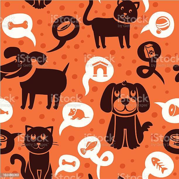 Vector cartoon seamless pattern with funny cats and dogs illustration id164486083?b=1&k=6&m=164486083&s=612x612&h=ghdgjxj 2jawe1bjnax3tqz6d5k7zptrz9 ium2xmqg=