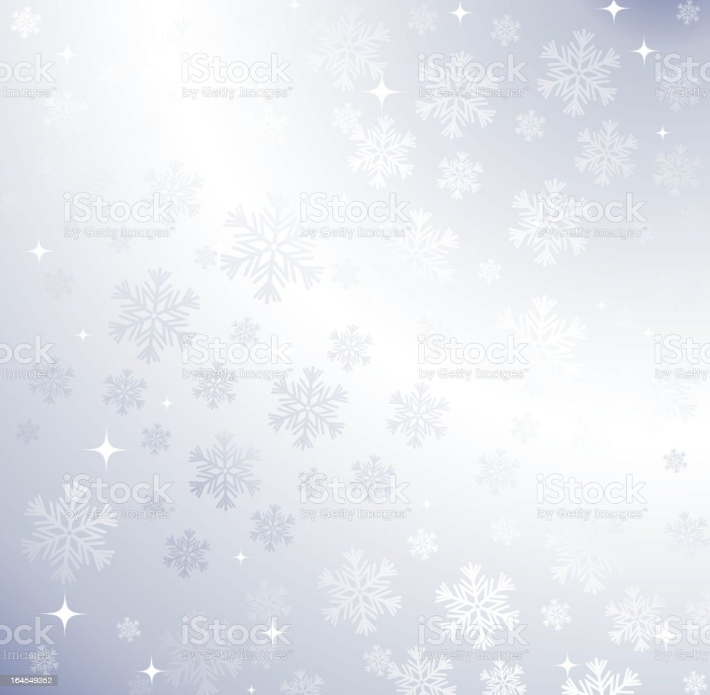 Vector christmas snowflakes background. royalty-free stock vector art