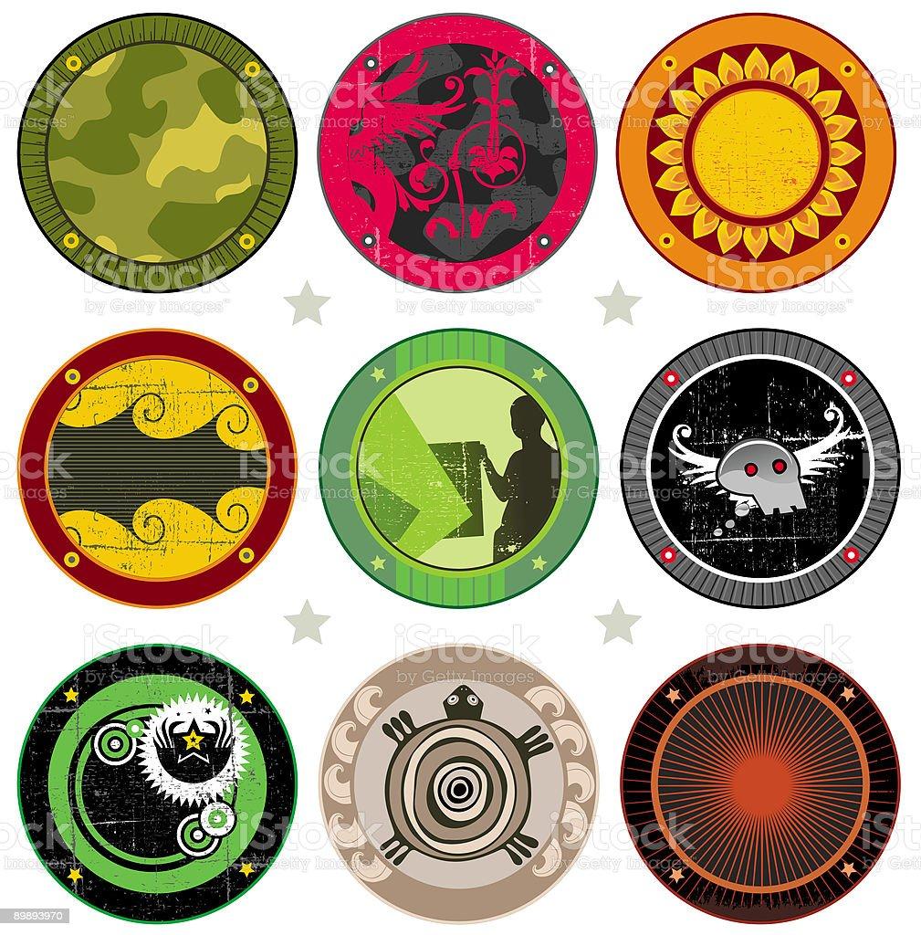 Vector bebida coasters ilustración de vector bebida coasters y más banco de imágenes de agua potable libre de derechos