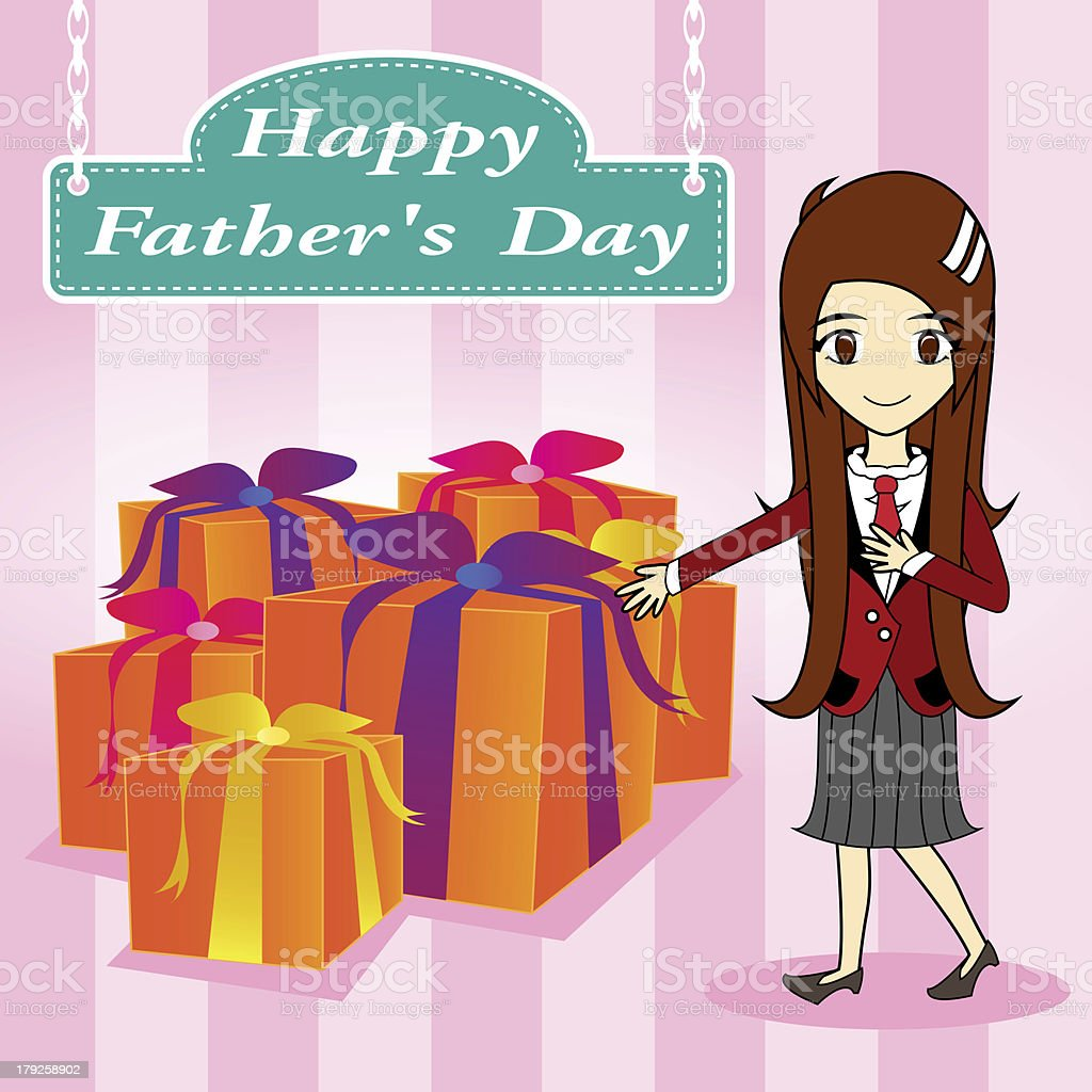 vector father day royalty-free stock vector art