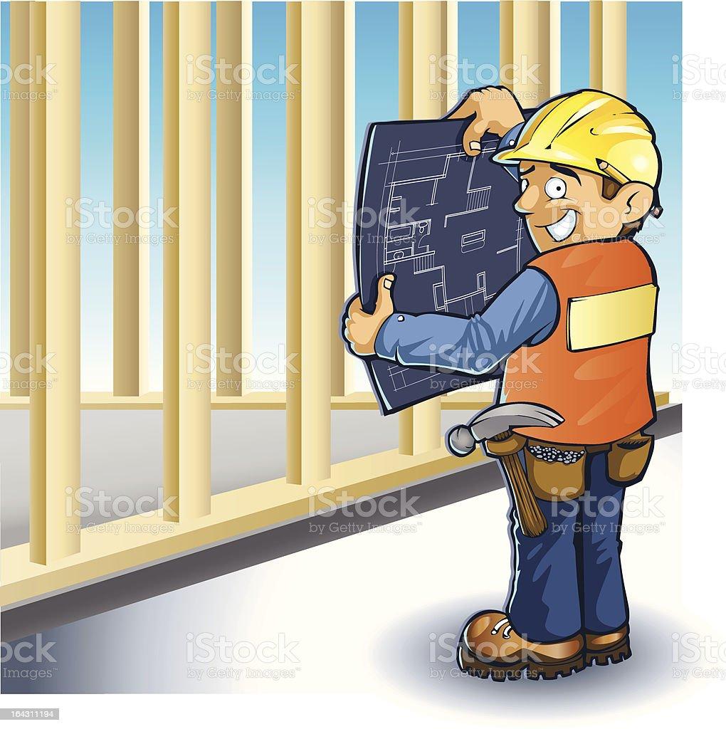 Vector Foreman, Nervous unsure royalty-free vector foreman nervous unsure stock vector art & more images of achievement
