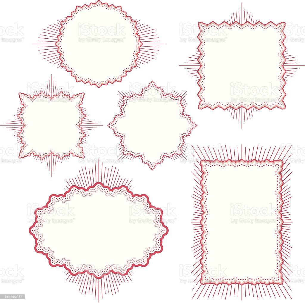Ilustración de Vector Marcos y más banco de imágenes de Adorno de ...