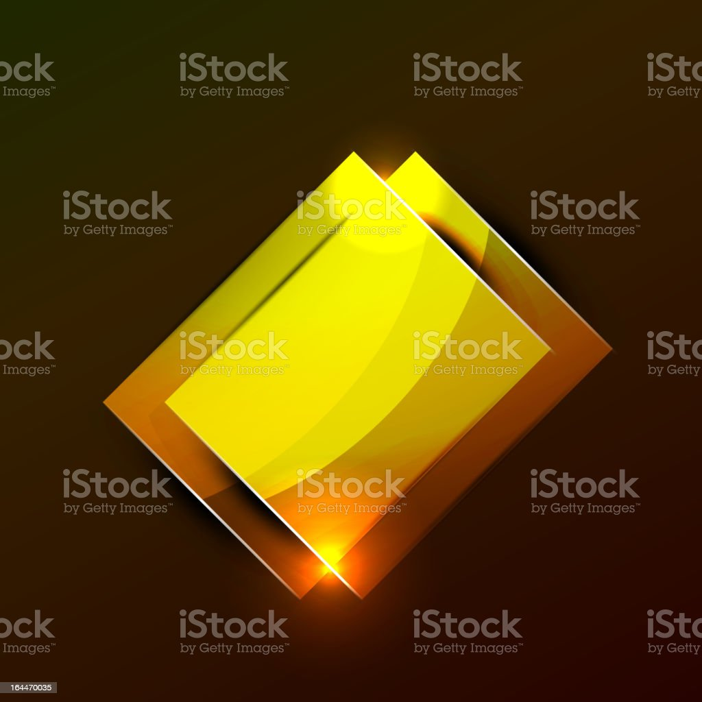 Vector glowing plates royalty-free stock vector art