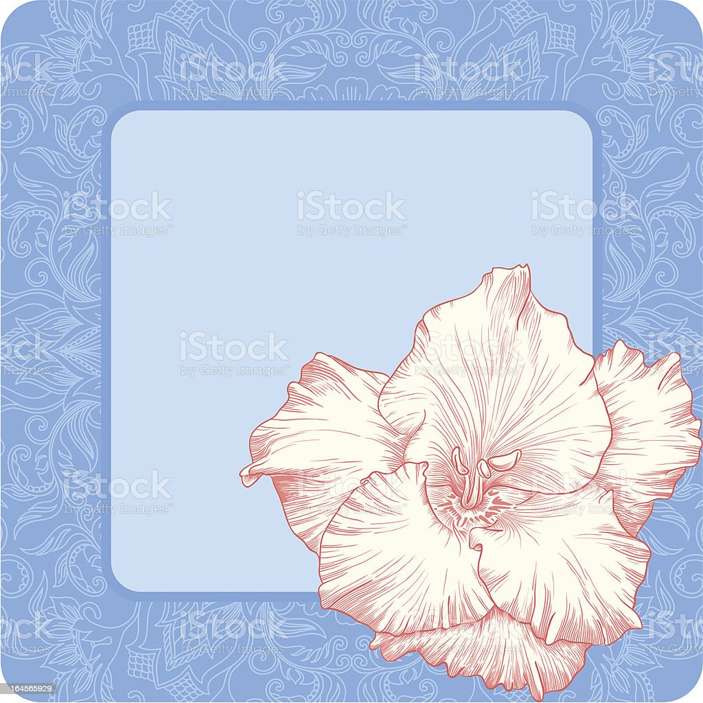 Vector greeting card. royalty-free stock vector art