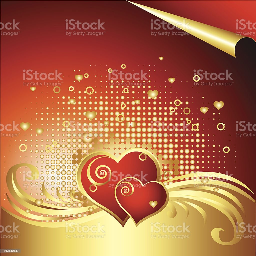 Vector Heart Background royalty-free vector heart background stock vector art & more images of abstract