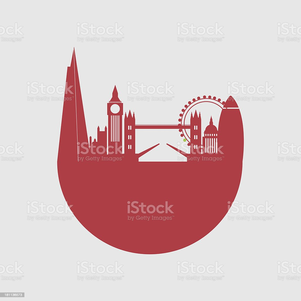 Vector illustration of London city skyline royalty-free vector illustration of london city skyline stock vector art & more images of architecture