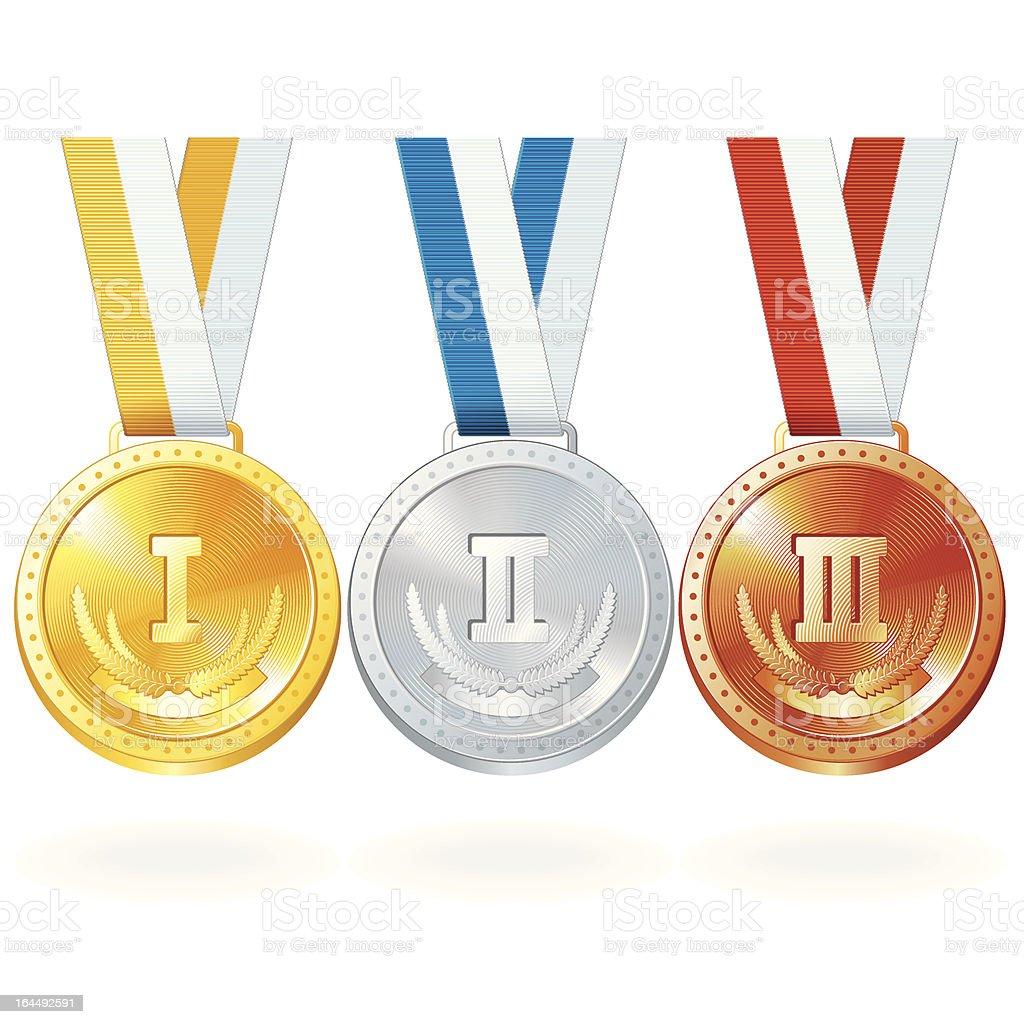 Vector Medals royalty-free stock vector art