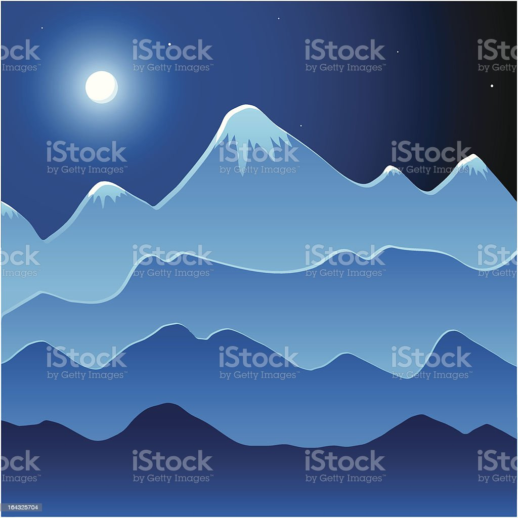 Vector Mountain Landscape royalty-free vector mountain landscape stock vector art & more images of abstract