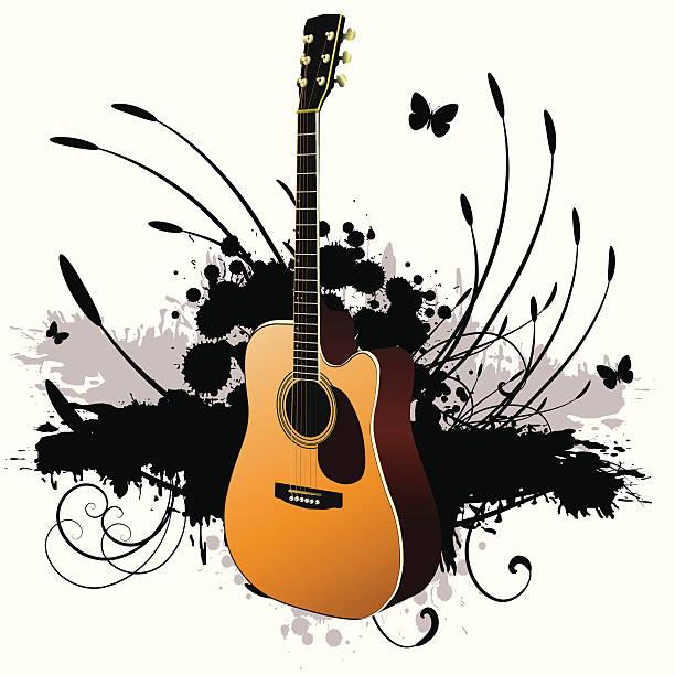 Vector Music vector art illustration