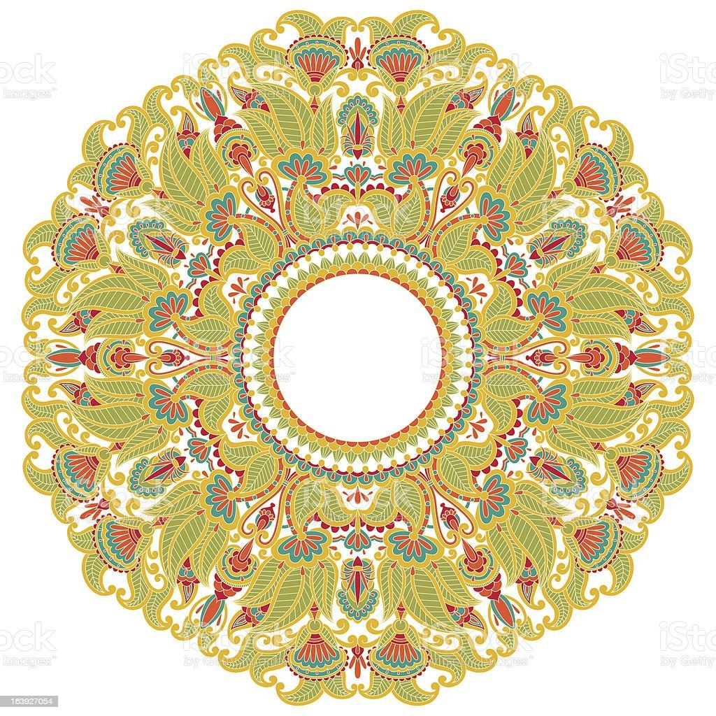 Vector ornament. royalty-free stock vector art