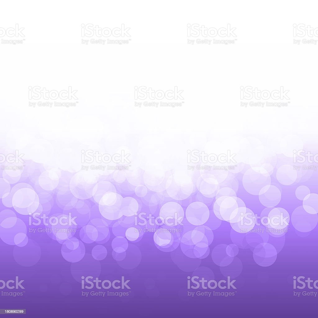 vector popular bokeh purple festive lights and stars royalty-free stock vector art