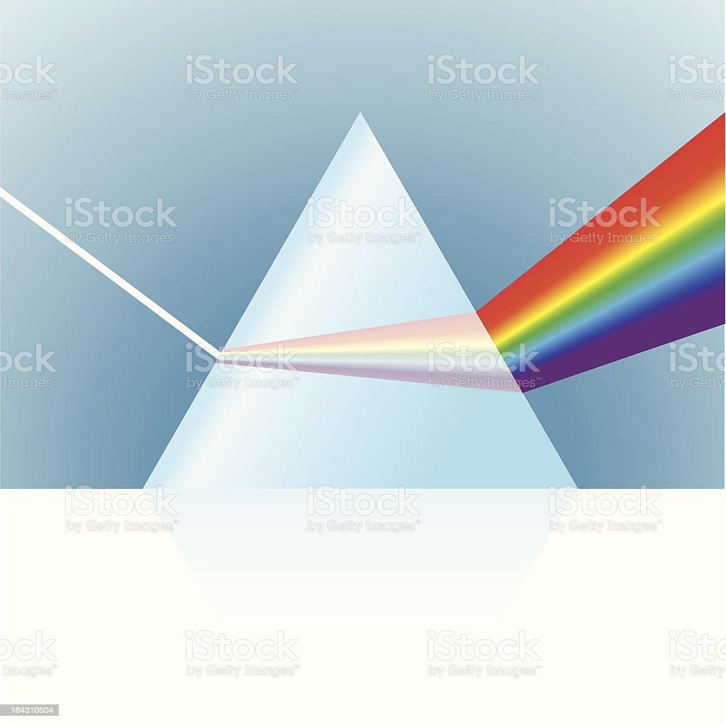 Vector Prism Illustration vector art illustration