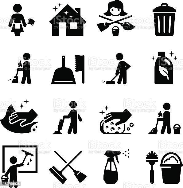 Vector set of black cleaning icons illustration id165799908?b=1&k=6&m=165799908&s=612x612&h=chzaej2hsr9ah8afevzlaju 47dqh2iqb ws kkn8rw=