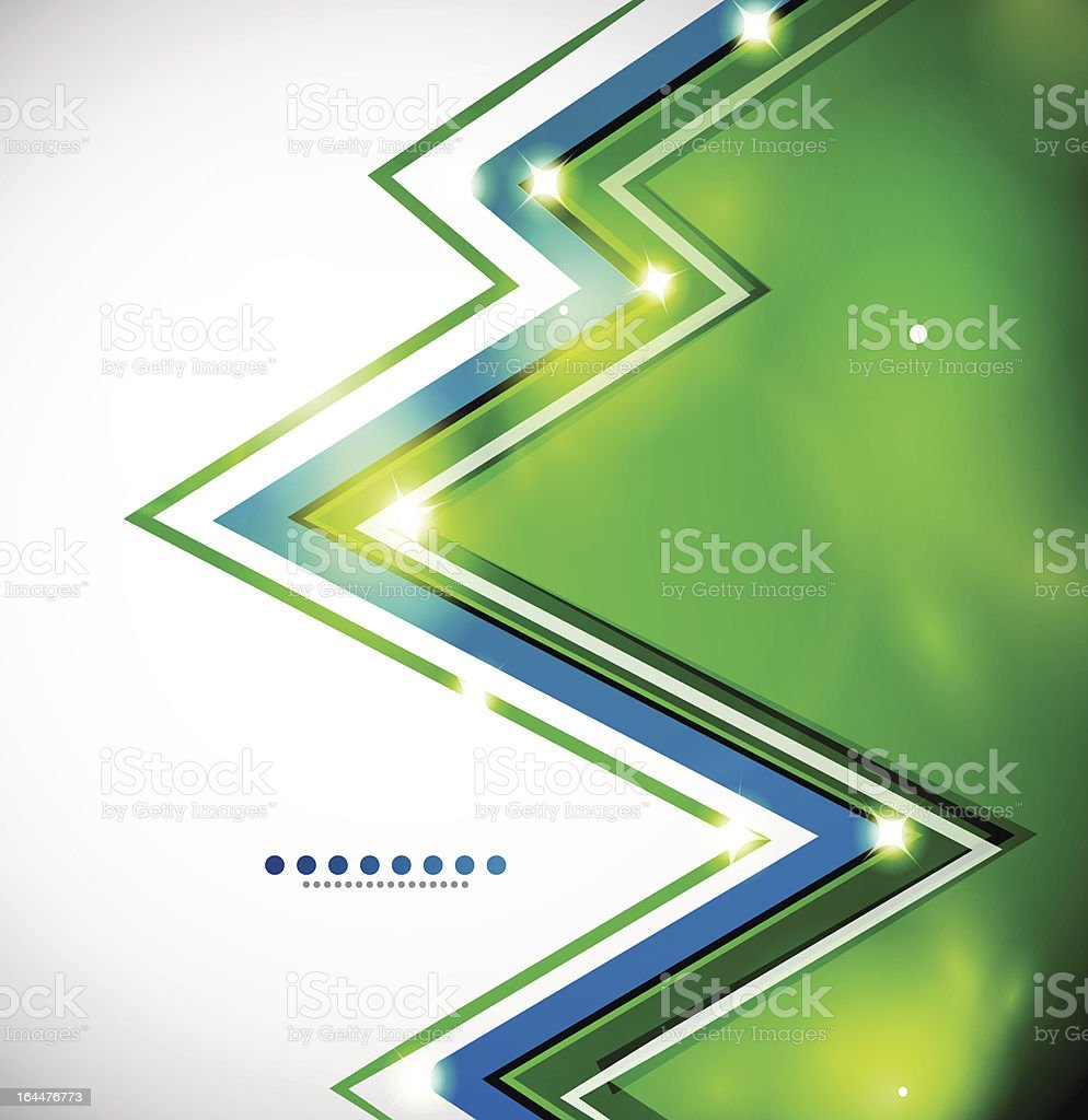 Vector shiny zigzag background vector art illustration