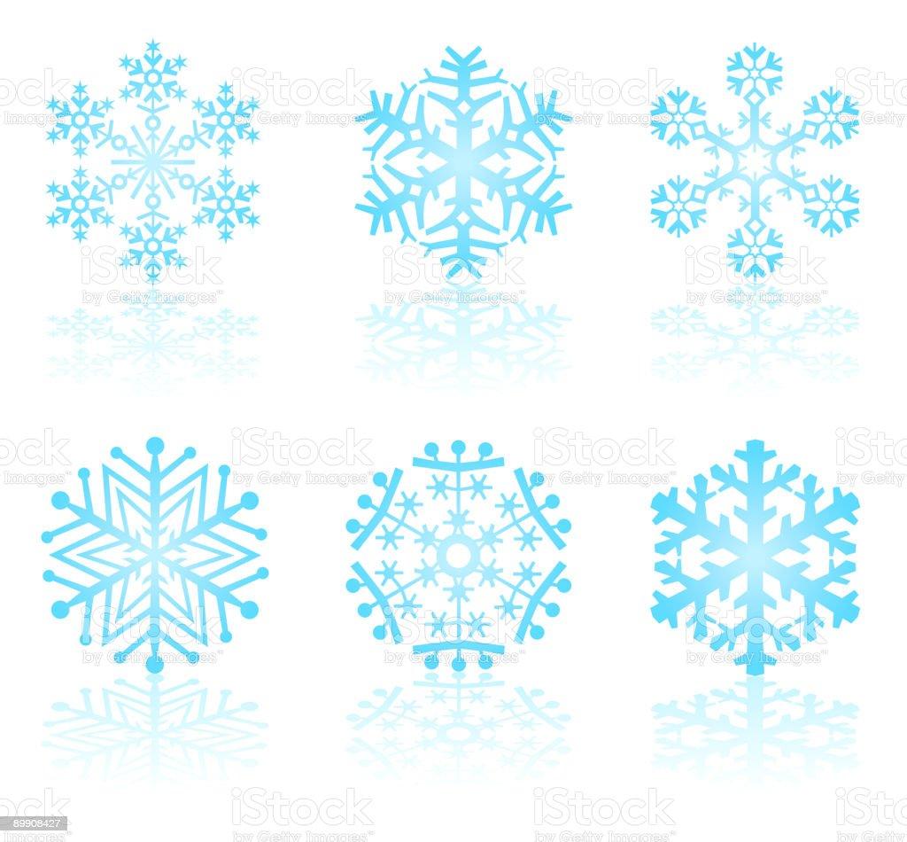 Вектор снежинок Вектор снежинок — стоковая векторная графика и другие изображения на тему Без людей Стоковая фотография